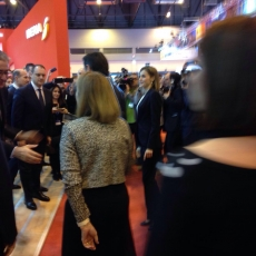 FITUR MADRID - International Tourism Exhibition in Madrid (22/01/2016)