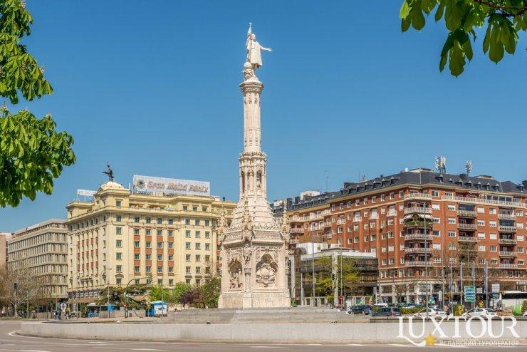 Достопримечательности Мадрида: площадь Колумба