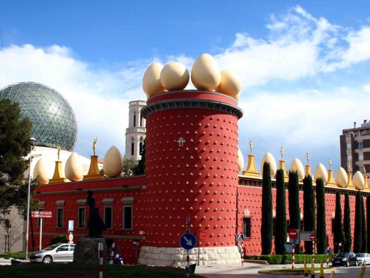 Музей Сальвадора Дали в городе Фигерас
