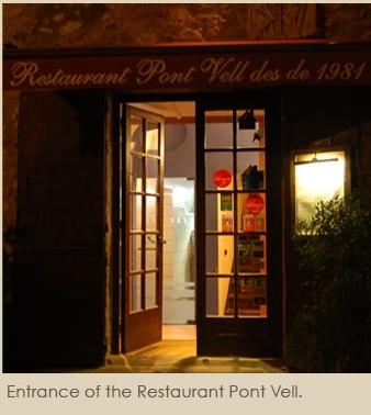 Обед в ресторане Pont vell