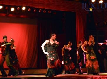 Шоу фламенко и рыцарский турнир