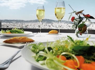 Обед в ресторане Terre de Alta Mar